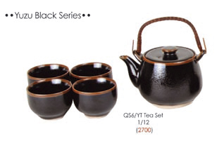 SET TE' YUZU BLACK SERIES